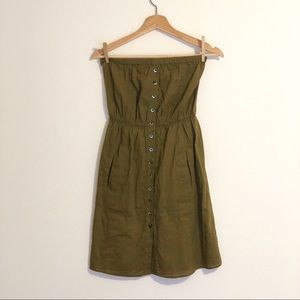 Odille strapless dress (XS)